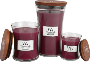 woodwick black cherry candles scandinavia. Black Bedroom Furniture Sets. Home Design Ideas