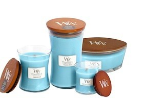 WoodWick Mini - Paradise Blue