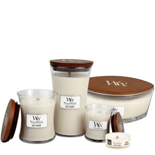 WoodWick Candle Large Baby Powder