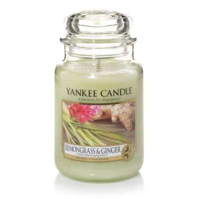 Yankee Candle Classic - Lemongrass & Ginger